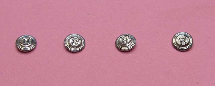 """4x """"Horch"""" Central lock for spokerim (1/43)"""