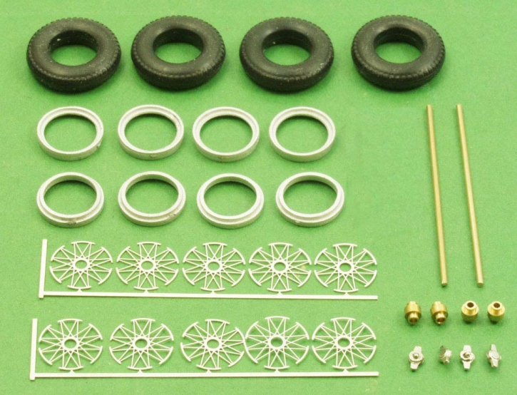Set of wheels   spokerims kit (1/43) ZU0091-0