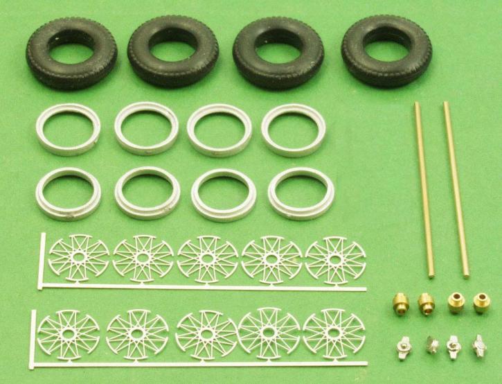 Radset Bausatz 4x Speichenfelge  (1/43) ZU0093-0