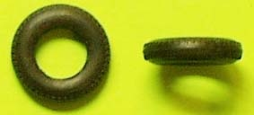 10 x Reifen 1/43_Gummi ø= 16,5mm x 4,2mm