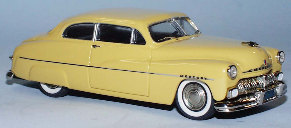 Ford Mercury Coupe 1950 1 43 Modellbil Skyline Models TW501-2