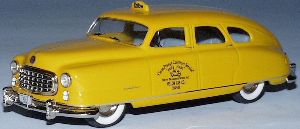 Nash Statesman Taxi 1950 1 43 Modelauto Skyline Models TW516-1